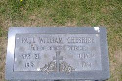 Paul William Cheshire