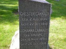 Johanna <i>Kruspe</i> Cannady