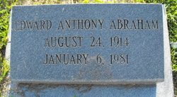 Edward Anthony Abraham