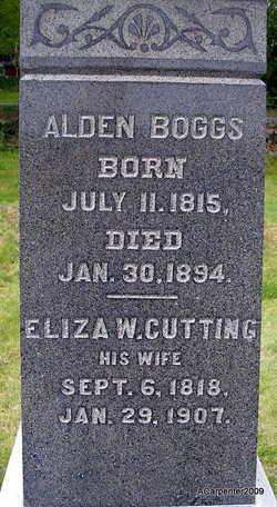 Eliza Waite <i>Cutting</i> Boggs