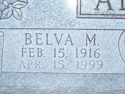 Belva Mildred <i>Hollon</i> Allen