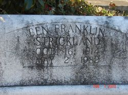 Ben Franklin Strickland