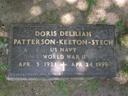 Doris Deliliah <i>Patterson</i> Stech