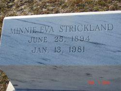 Minnie Eva Strickland
