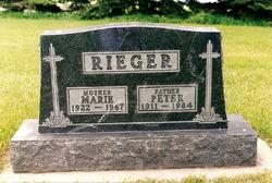 Marie <i>Bjerke</i> Rieger
