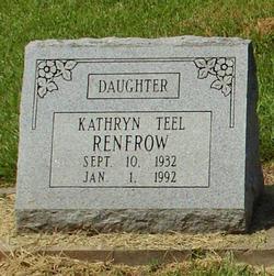Kathryn <i>Teel</i> Renfrow