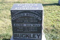 Alice <i>Nuttall</i> Buckley