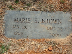 Marie <i>Sullivan</i> Brown