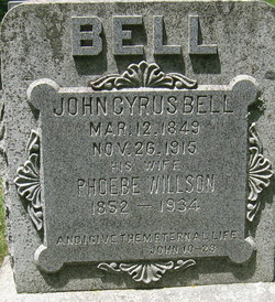 Phoebe <i>Willson</i> Bell