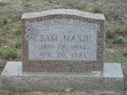 Sam Maxie