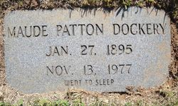 Maude Mildred <i>Wilson</i> Dockery