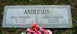 Clara Augusta <i>Werchan</i> Anderson