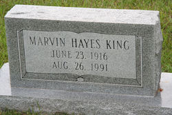 Marvin Hayes King