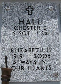Elizabeth G Hall