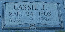 Cassie Jane <i>Whitman</i> Foxworth