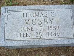 Thomas Green Mosby