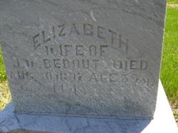 Elizabeth <i>Fisher</i> Bebout