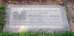 Mildred <i>Lilly</i> Adair