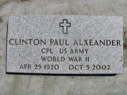 Clinton Paul Alexander