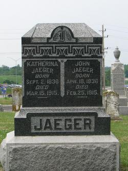 Katherina <i>Wolf</i> Jaeger