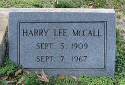 Harry Lee McCall