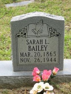 Sarah Lucinda Sis <i>Mercer</i> Bailey