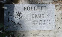 Craig Kenneth Follett