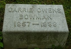 Carrie <i>Owen</i> Bowman