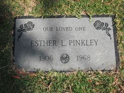Esther Loretta <i>Fodge</i> Pinkley