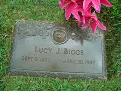 Lucy Josephine <i>Thomason</i> Biggs