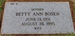 Betty Ann Bosen