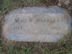 Georgiana Maie <i>Webster</i> Barkley
