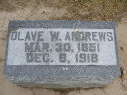 Olave Walter Ollie Andrews