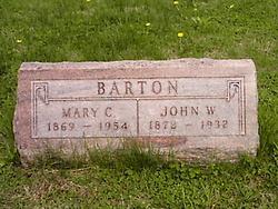 Mary Catherine <i>Clark</i> Barton