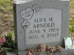 Alice M Arnold
