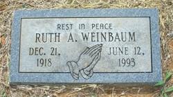 Ruth <i>Austin Thrasher</i> Weinbaum