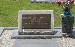 Sgt Murray Elzia Aultman