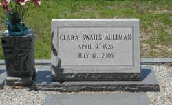 Clara <i>Swails</i> Aultman