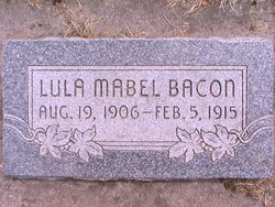 Lula Mabel Bacon