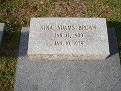 Nina <i>Adams</i> Brown