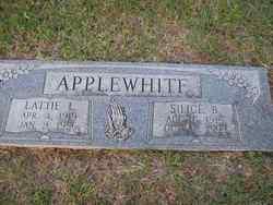 Lattie L <i>Davis</i> Applewhite