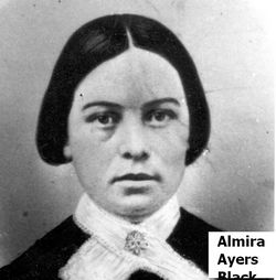 Almira Murry <i>Ayers</i> Black