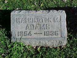 Washington Moorehouse Adams
