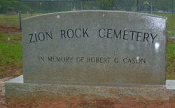Zion Rock Cemetery