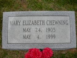 Mary Elizabeth Chewning