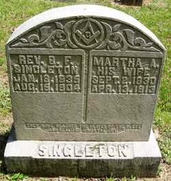 Martha Ann <i>Allen</i> Singleton