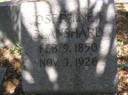 Josephine F Blanshard