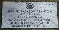 Wayne Jackson Stanton