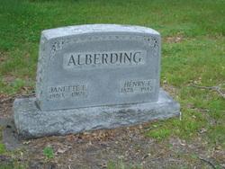 Janette <i>Graeber</i> Alberding