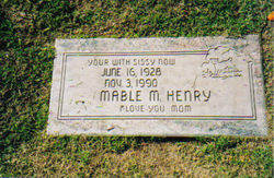 Mable Marie <i>Hensley</i> Henry